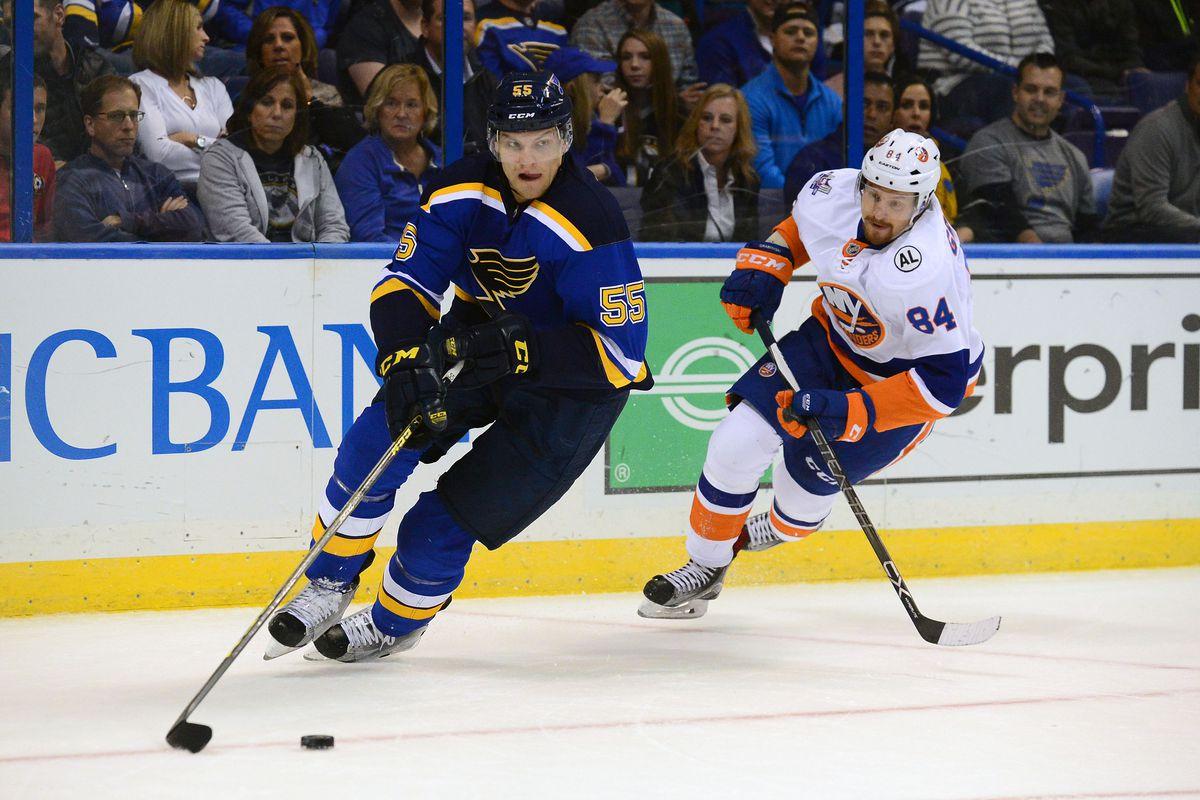 NHL: New York Islanders at St. Louis Blues