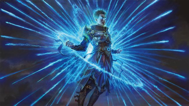 New art for the card Counterspell, as featured in <em>Masters 25</em>. Counterspell was first printed in&nbsp;<em>Limited Edition (Alpha), which was released in 1993.</em>