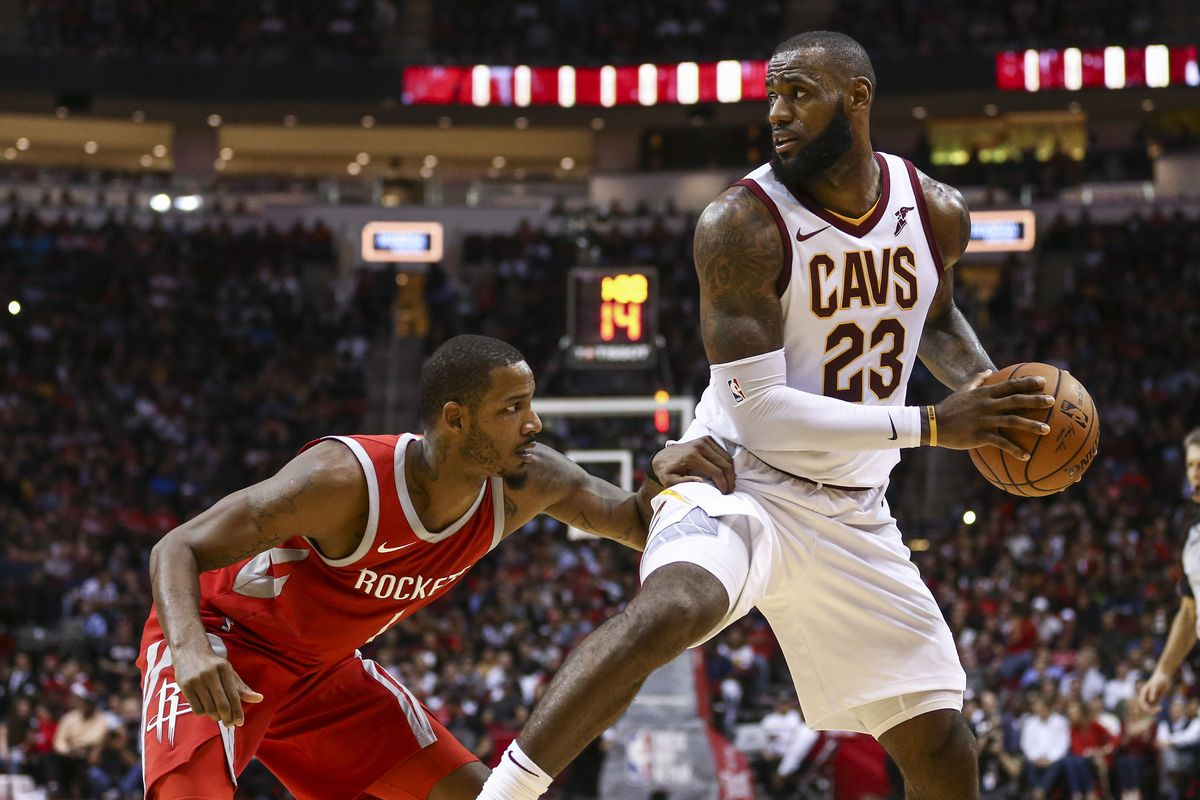 1f1b1ccd3 LeBron James to the Rockets would be complicated. Here are 4 ...