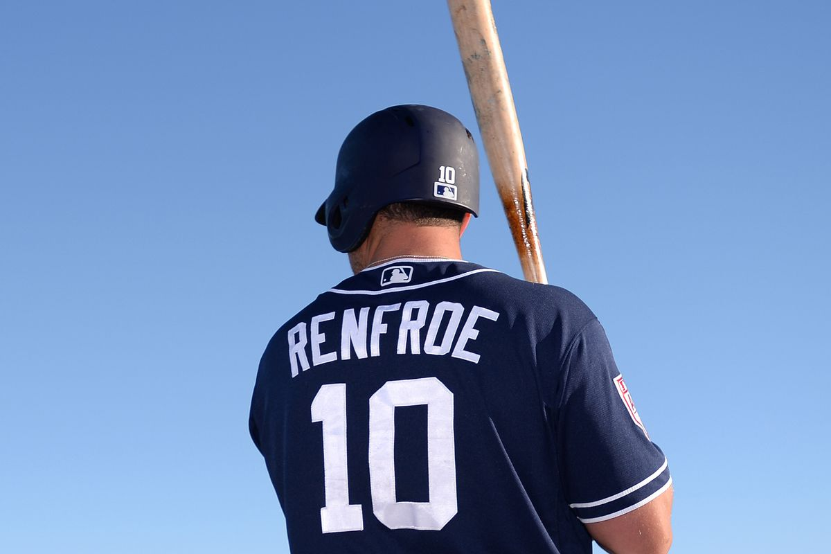 promo code 5bcae b3675 Padres Daily Links: Is Hunter Renfroe the answer in right ...