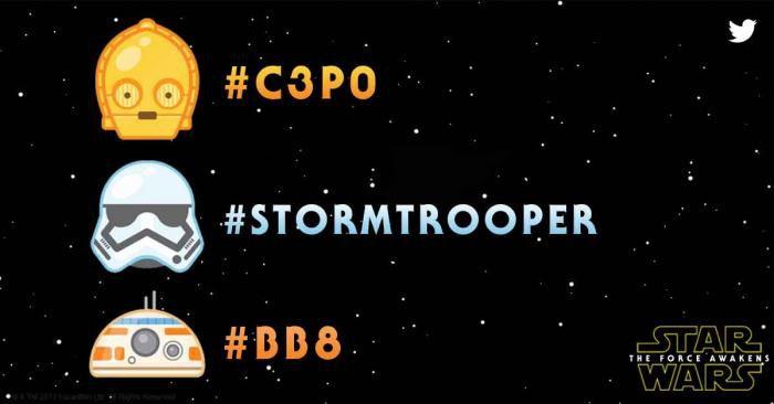 Star Wars twitter emoji