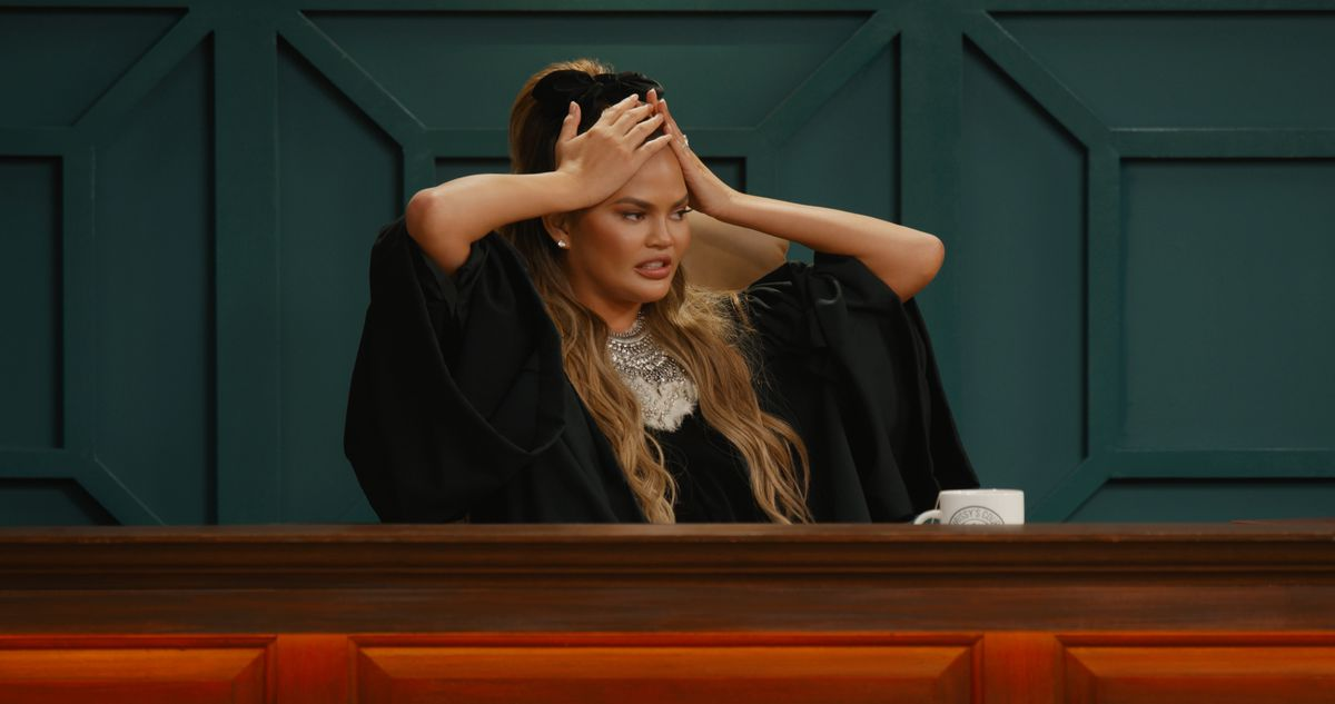 Chrissy Teigen is a judge in one of Quibi's shows.