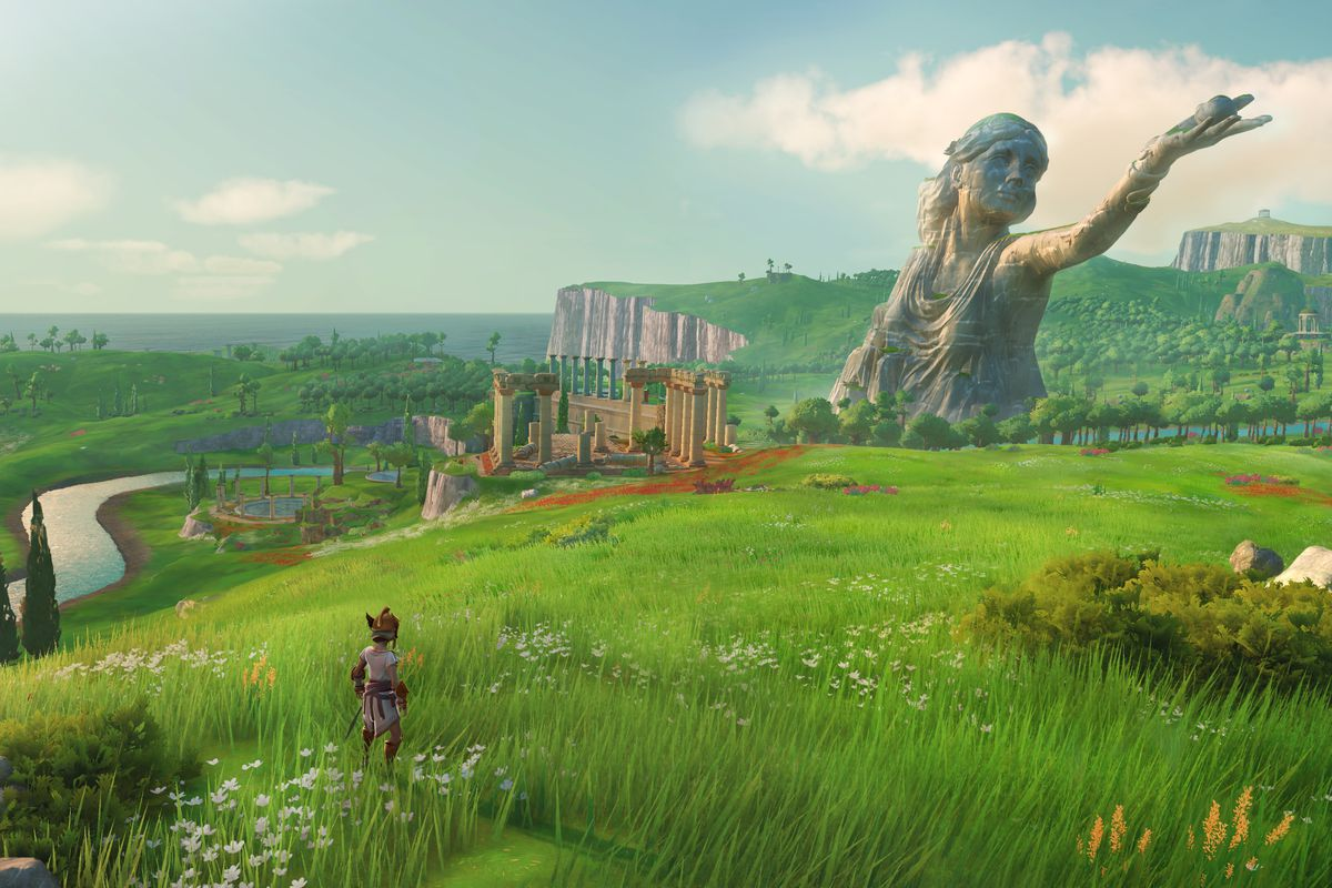 By Zeus Gods Monsters Looks A Lot Like Breath Of The Wild Polygon