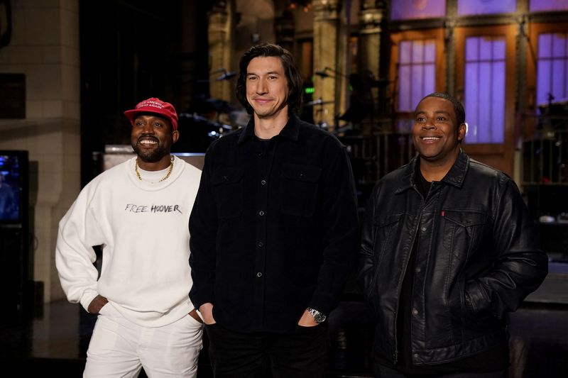 kanyewestadamdriverkenanthompsonsnl How Kanye West's brand survives his controversies, explained by a crisis PR expert