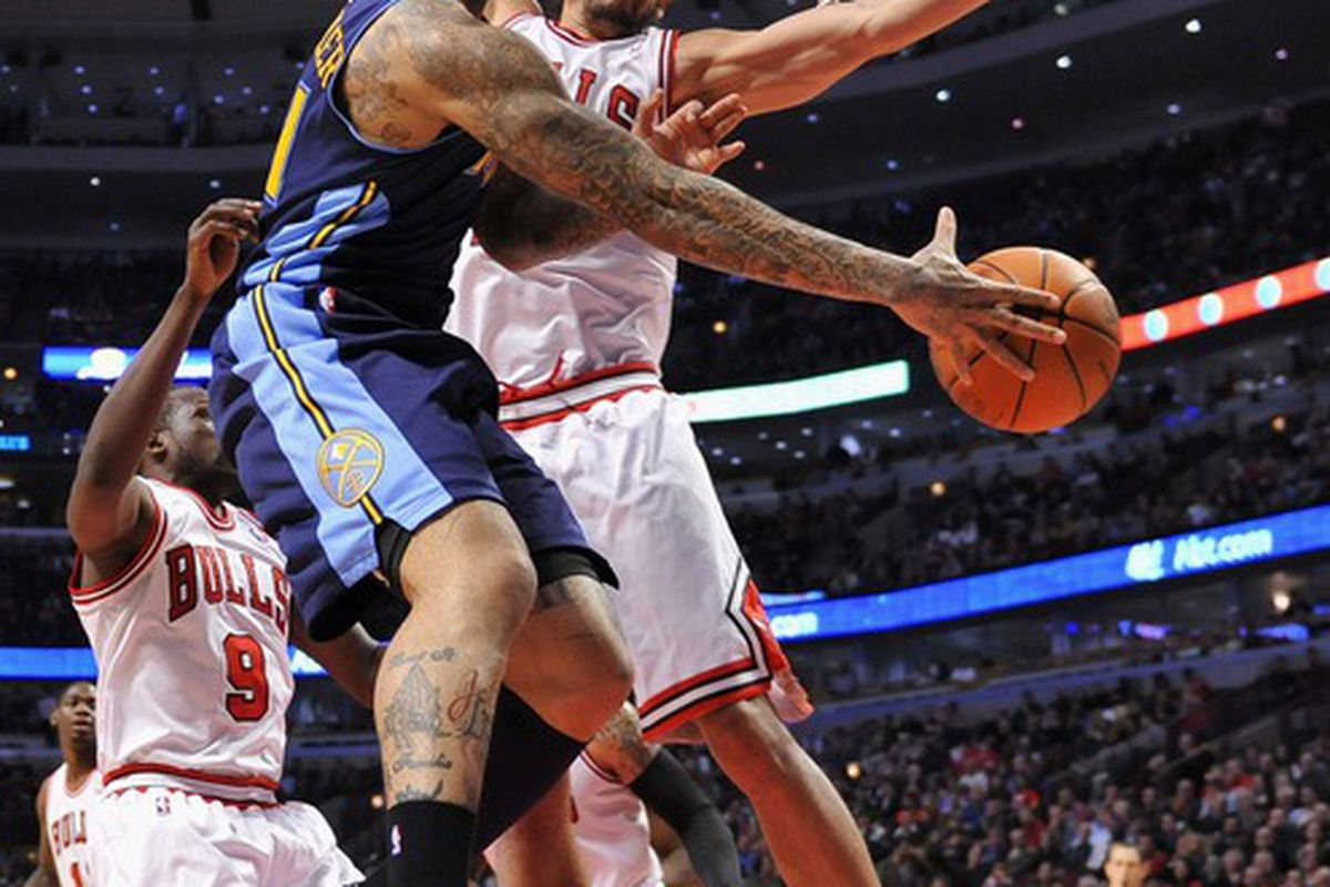 Wilson Chandler and the Nuggets need to wrap a win around the Raptors tonight.