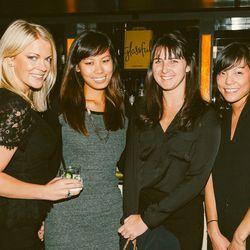 Annie Kiernan, Vox Media Account Director Charlene Chang, and Bloomingdales' Kellen Brady and Tiya Lee