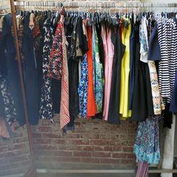 Tops, $75; dresses, $100