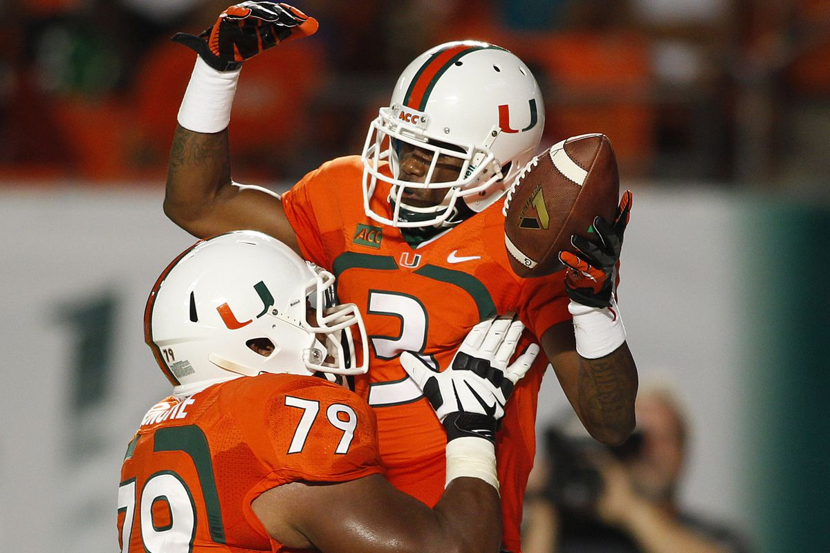 Stacy Coley was one of many Canes who had a huge night