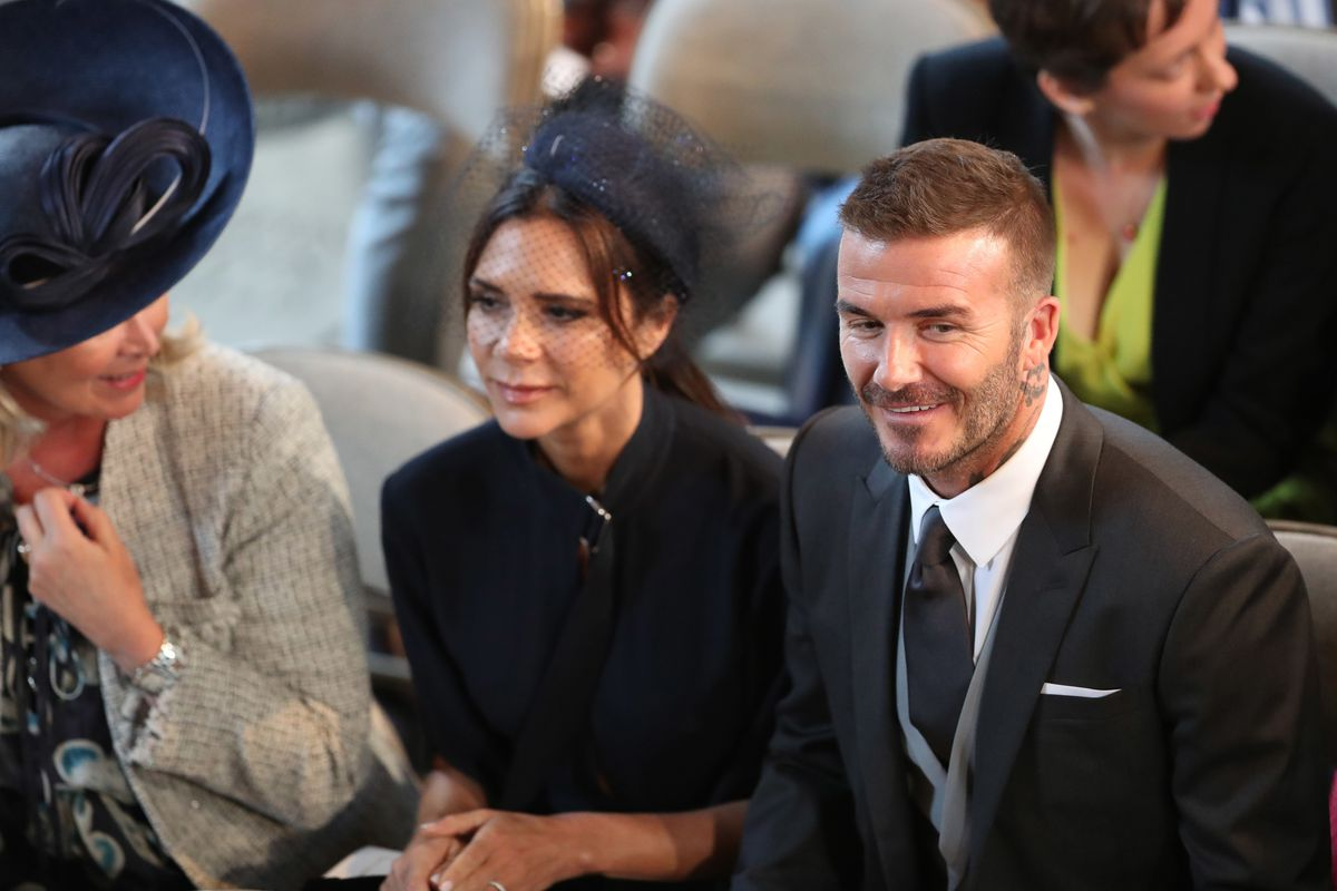 Royal Wedding David And Victoria Beckham Looked Extremely Dapper