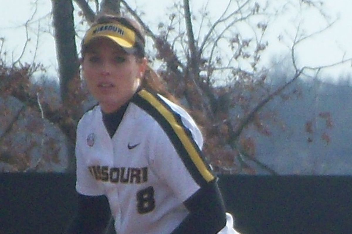 Nicole Hudson leads the team with 15 home runs and gets on base almost half of the time.