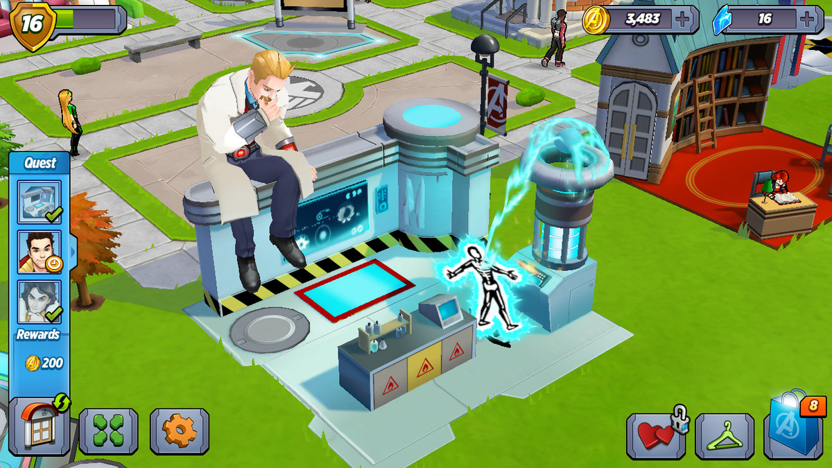Marvel's Avengers Academy is more fun than it has the right
