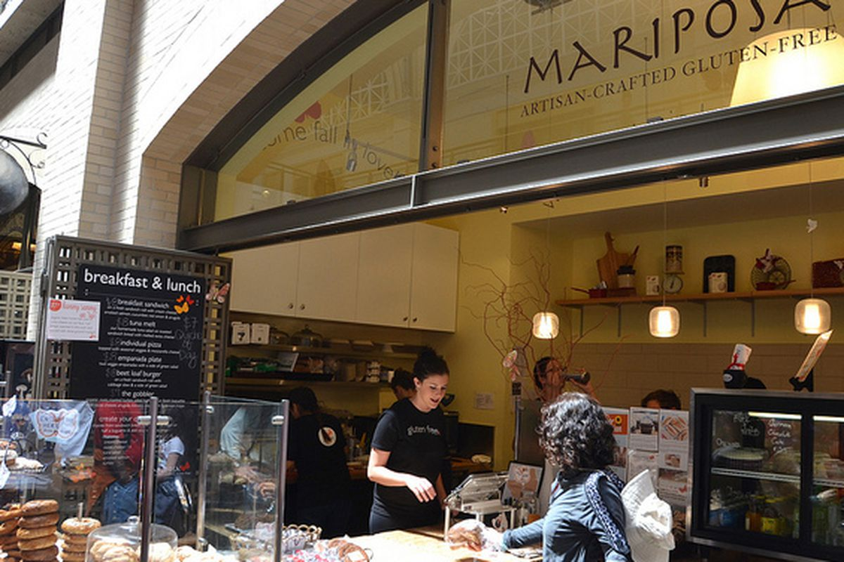Mariposa at the Ferry Building.