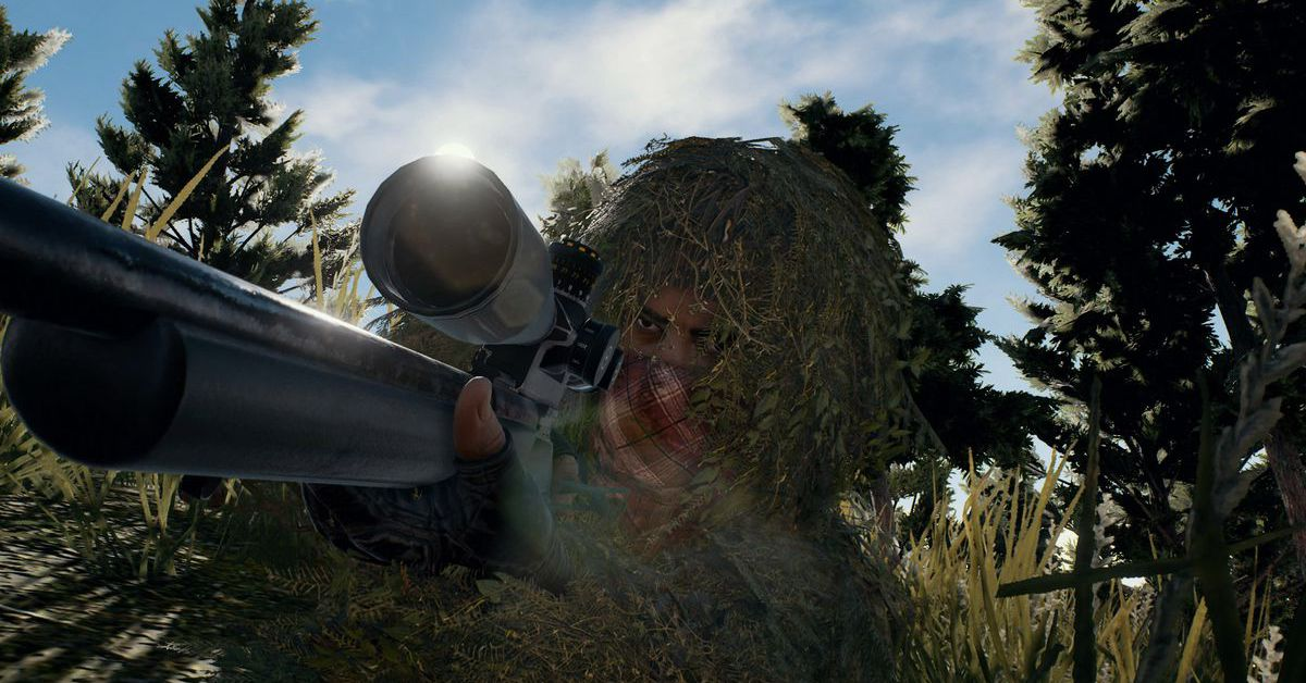 PUBG's New Event Mode Is All About Ghillie Suits And