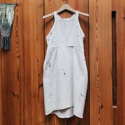 """<b>Rachel Comey</b> Dirty White Denim Tippet Dress, <a href=""""http://shopbird.com/product.php?productid=28894&cat=0&manufacturerid=185&page=1"""">$375</a>"""