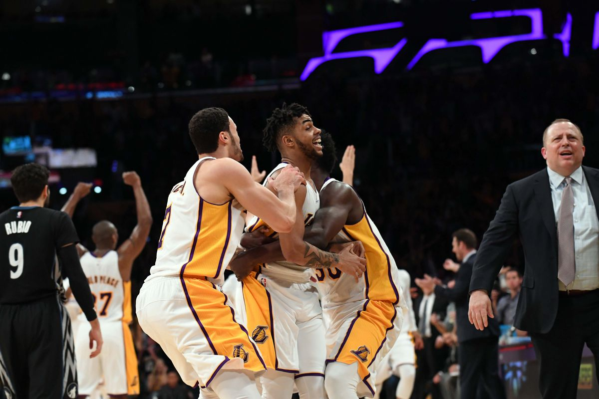 d625841b513 Lakers rank fourth in league-wide merchandise sales - Silver Screen ...