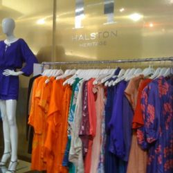 Halston's vibrant colors