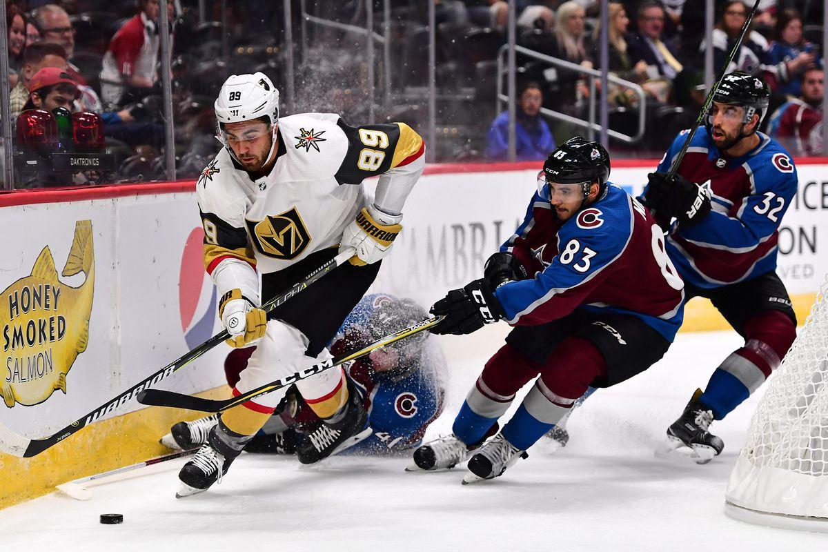 NHL: Preseason-Vegas Golden Knights at Colorado Avalanche