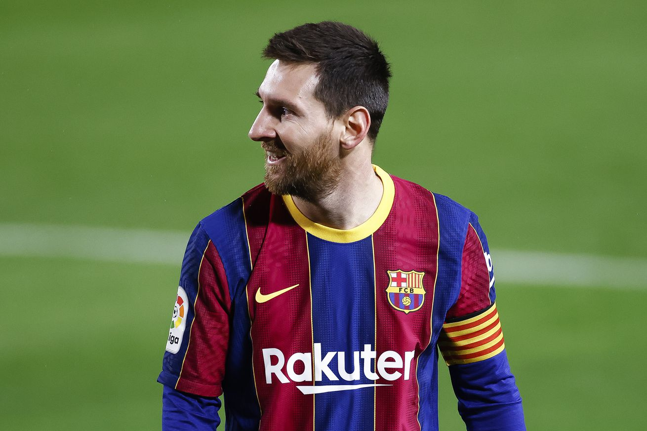 Laporta says he wants to make Messi smile again at Barcelona