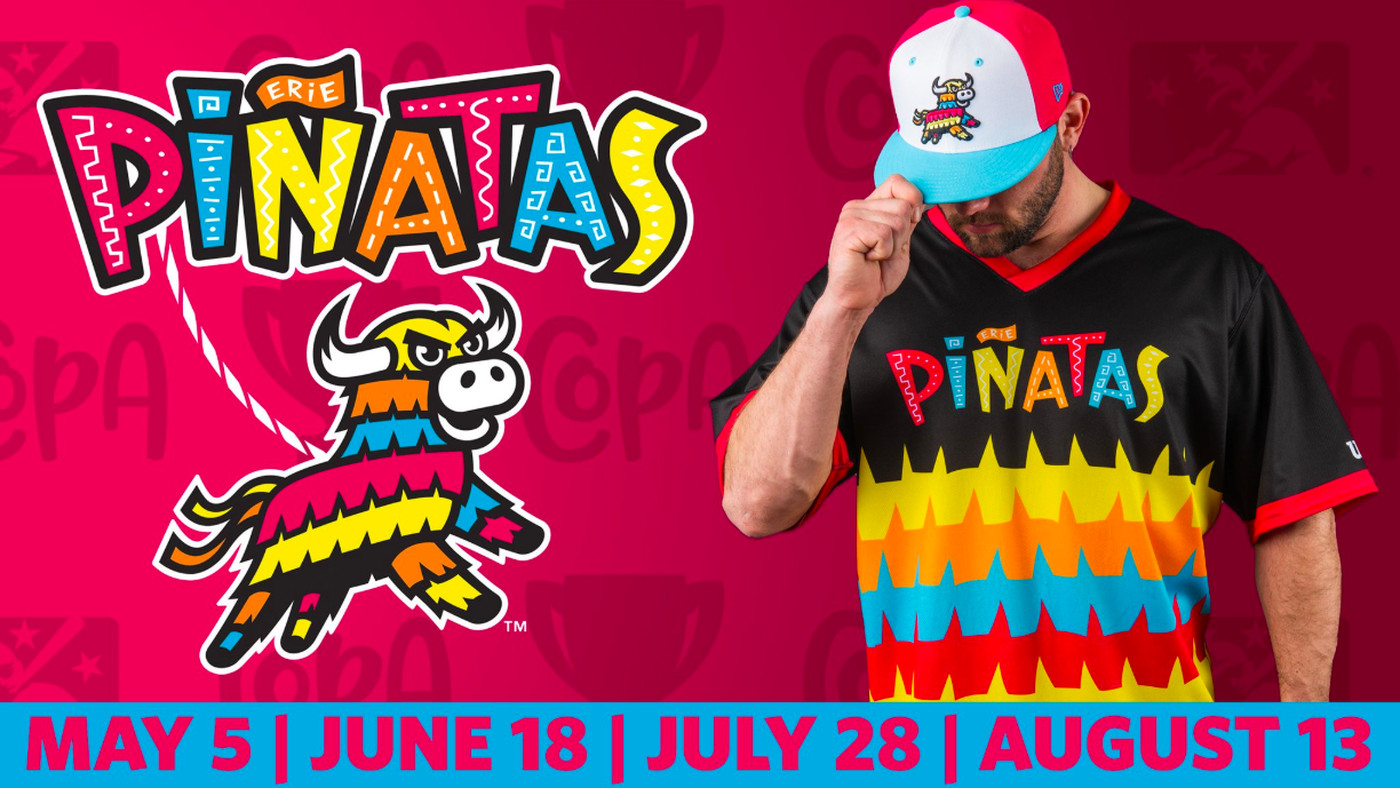 The Erie SeaWolves will be the Erie Piñatas for 4 games this season