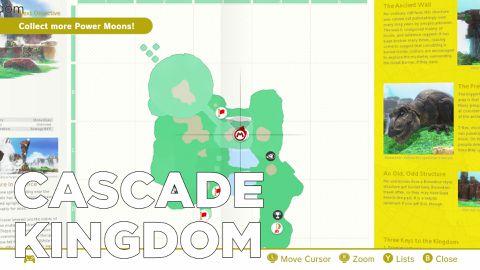 Super Mario Odyssey guide: Seaside Kingdom all power moon locations