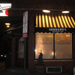 Gennaro's oozes with an old school pizza parlor vibe.