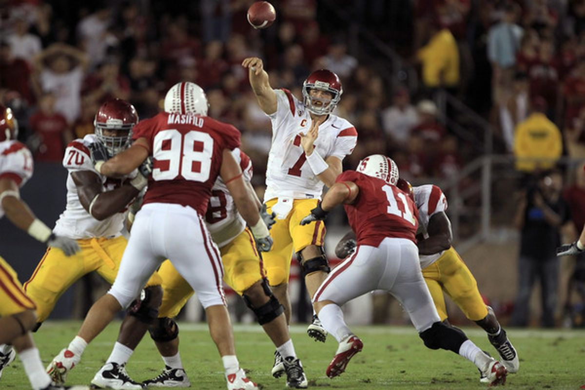 Matt Barkley had a solid if unspectacular game against the Golden Bears last season. Can he replicate that performance in the Coliseum?