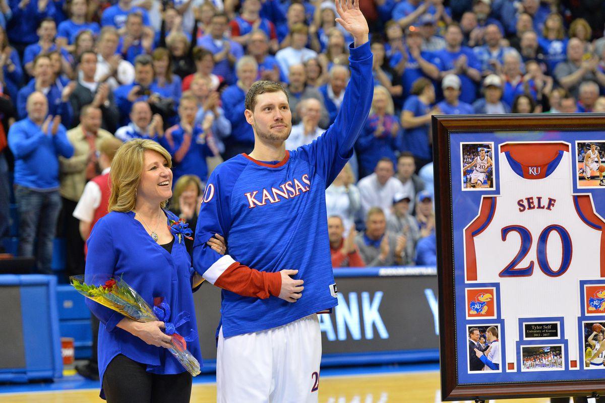 NCAA Basketball: Oklahoma at Kansas