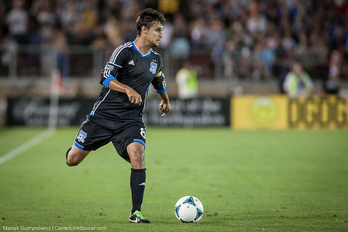 Chris Wondolowski tallied his first USMNT goal in a 6-0 win against Guatemala