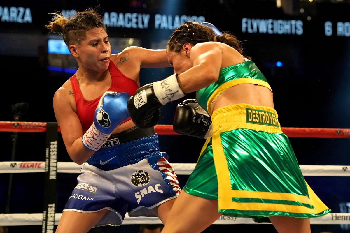 The Biggest Fight In Womens Boxing Is Over A Minute The Ringer