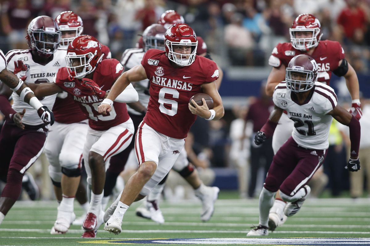 NCAA Football: Southwest Classic-Texas A&M vs Arkansas