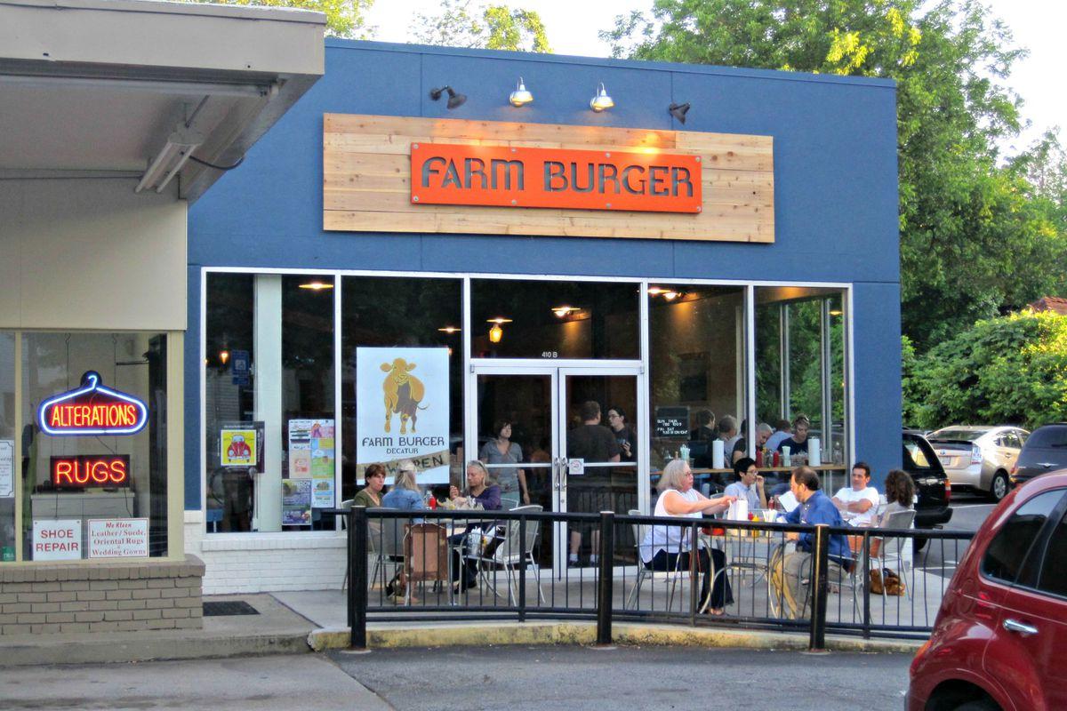 Farm Burger in Decatur, Georgia