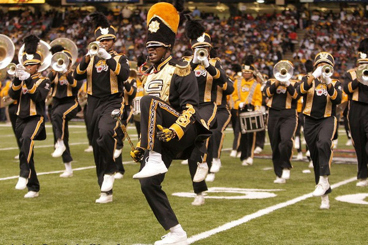 The best, and best know, athletes at Grambling St. are in the Tigers marching band. They are not coming to Corvallis. Their winless hoops team is, though.