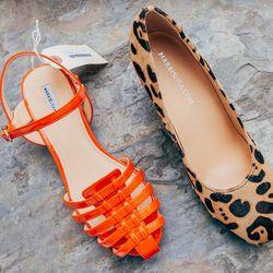 "Marais USA Jelly Sandal, <a href=""http://shop.thistleclover.com/collections/shoes/products/marais-usa-jelly-sandal"">$147</a>; Marais USA Gem Wedge, <a href=""http://shop.thistleclover.com/collections/shoes/products/marais-usa-gem-wedge"">$196</a>"