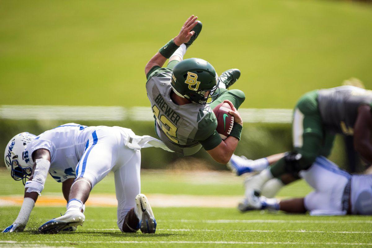 NCAA Football: Duke at Baylor