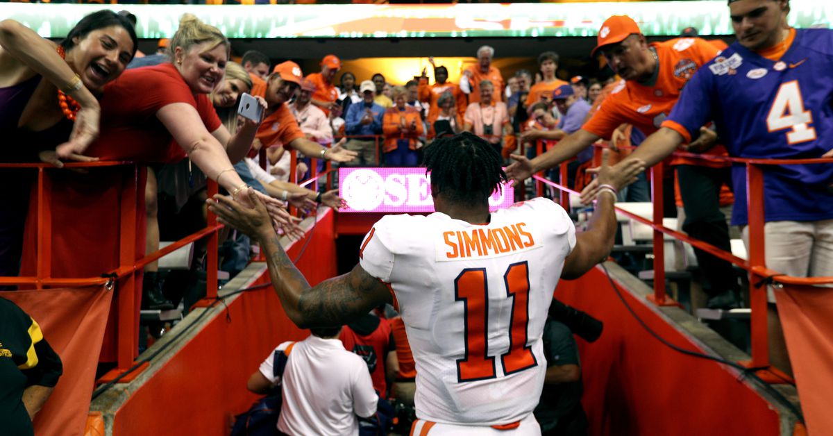 My pick for the Chargers: Isaiah Simmons