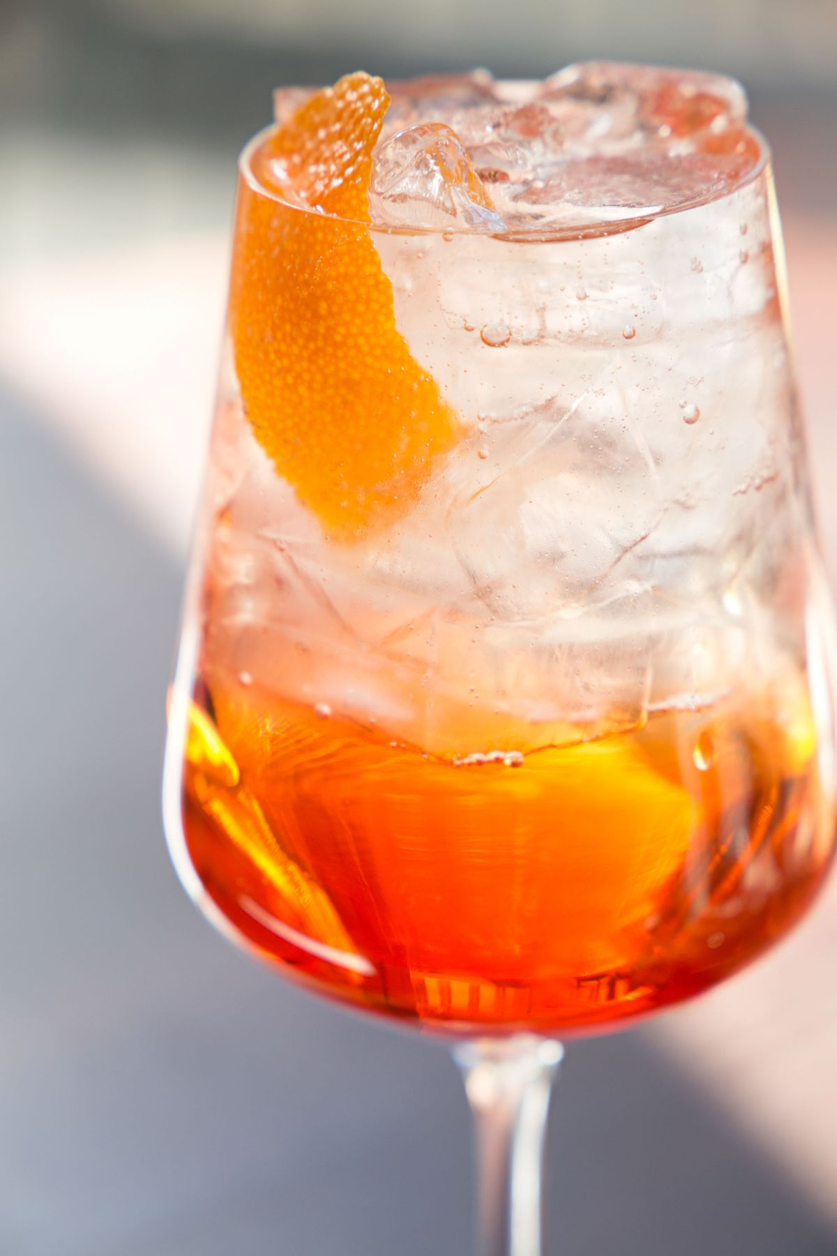 Aperol spritz at fox & the knife