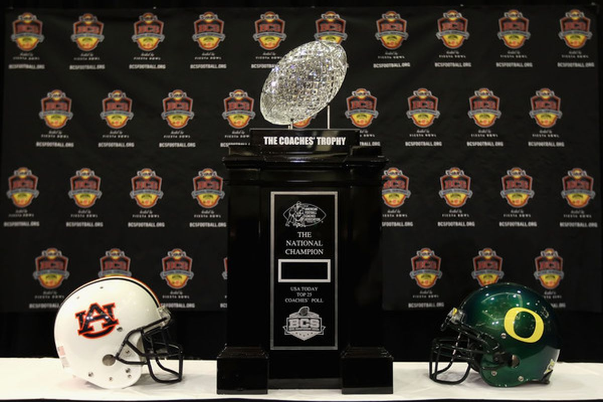 I'm all for keeping the Coaches Trophy, but the Coaches' Poll had better not be used in the playoff team selection method.