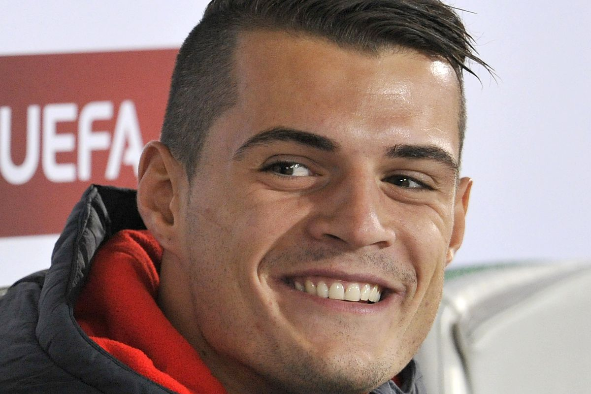 Granit Xhaka Reacts To Signing For Arsenal On Instagram The Short Fuse