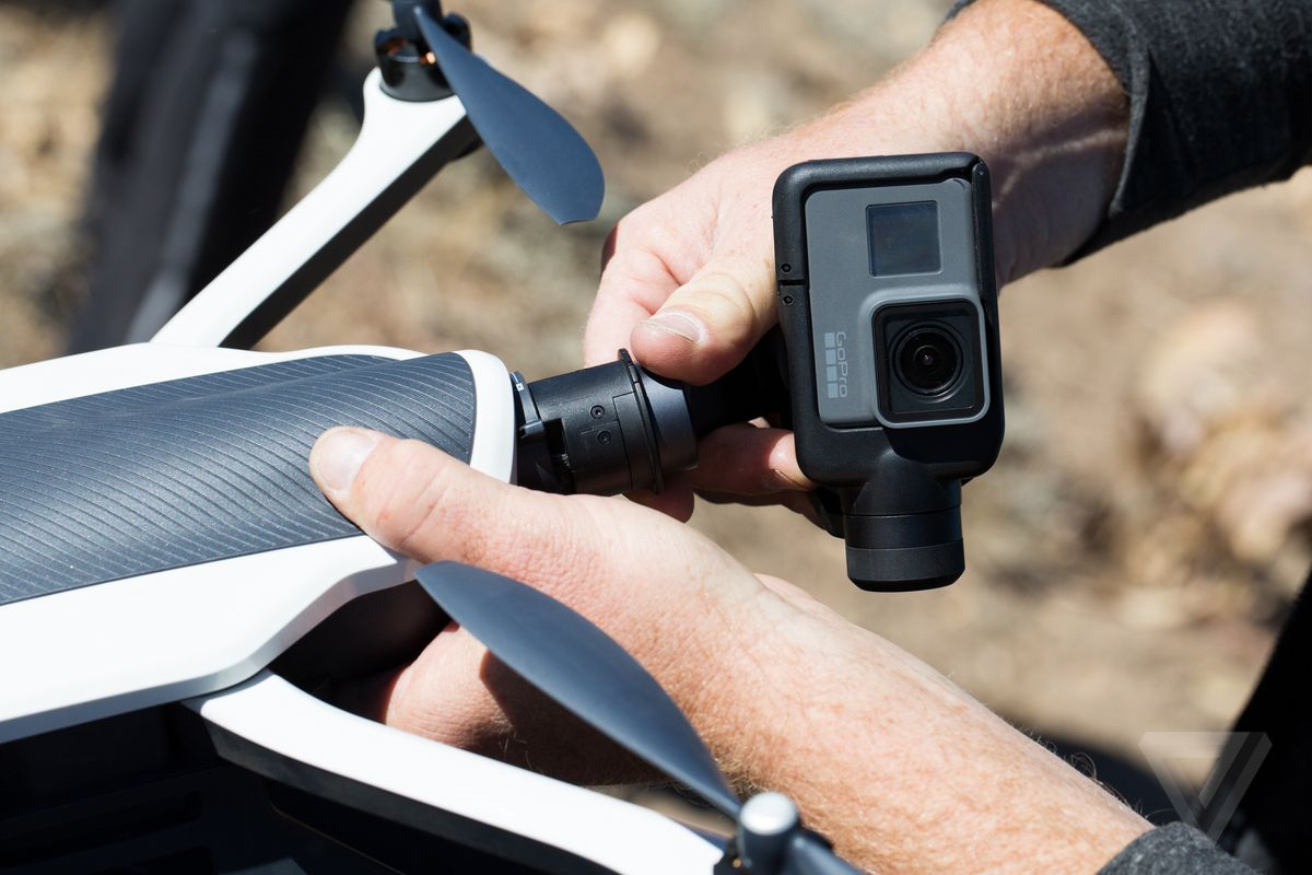 GoPro is getting out of the drone business