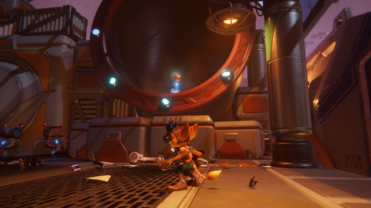 A Spybot in Ratchet & Clank: Rift Apart