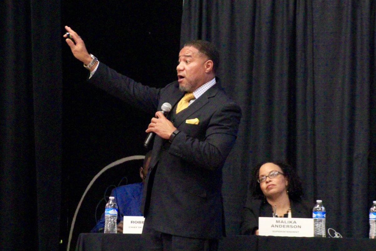 Frayser Community Schools CEO Bobby White has seen the highs and lows of the turnaround district.