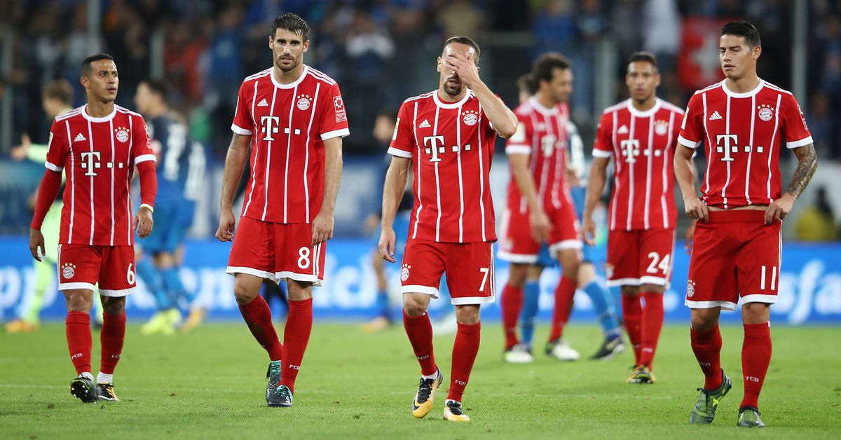 Match awards from Bayern Munich's disappointing 2-0 loss ...