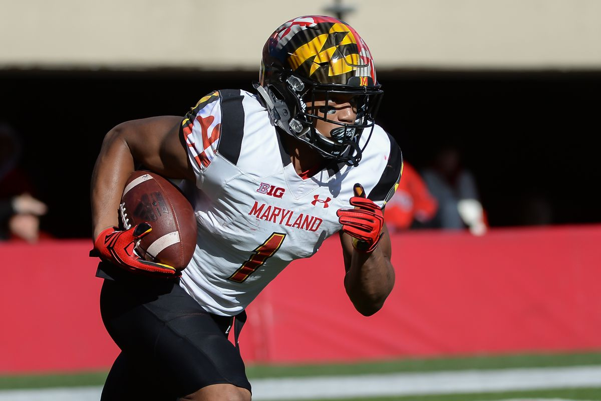 fbda332f7 2018 NFL Scouting Report  Scouting Maryland wide receiver D.J. Moore ...