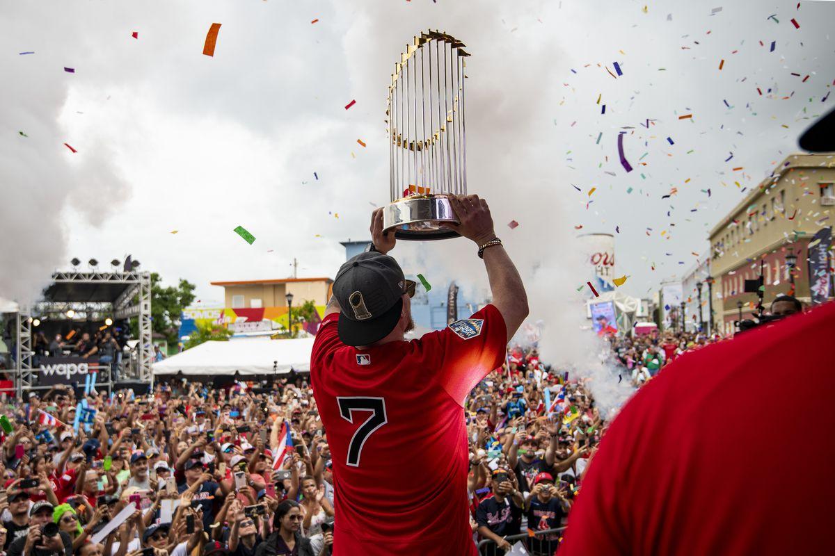 Boston Red Sox World Series Puerto Rico Trip