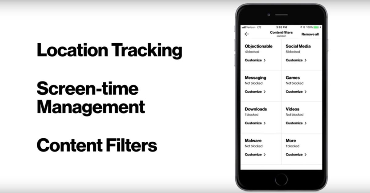 Verizon's new parental control app lets parents track their
