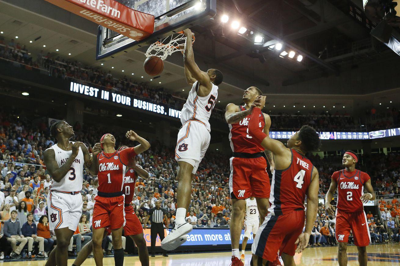 NCAA Basketball: Mississippi at Auburn