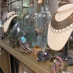 Jewelry galore at the Dannijo sample sale (423 W. 14th Street)
