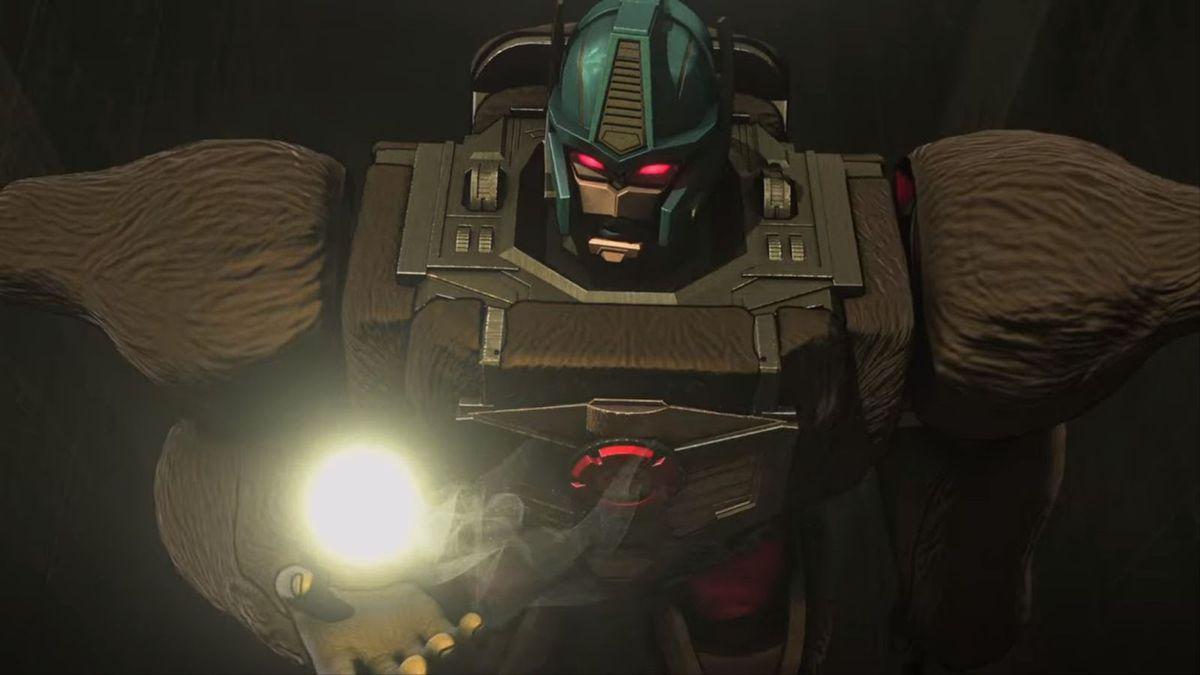 Optimus Primal on War for Cybertron