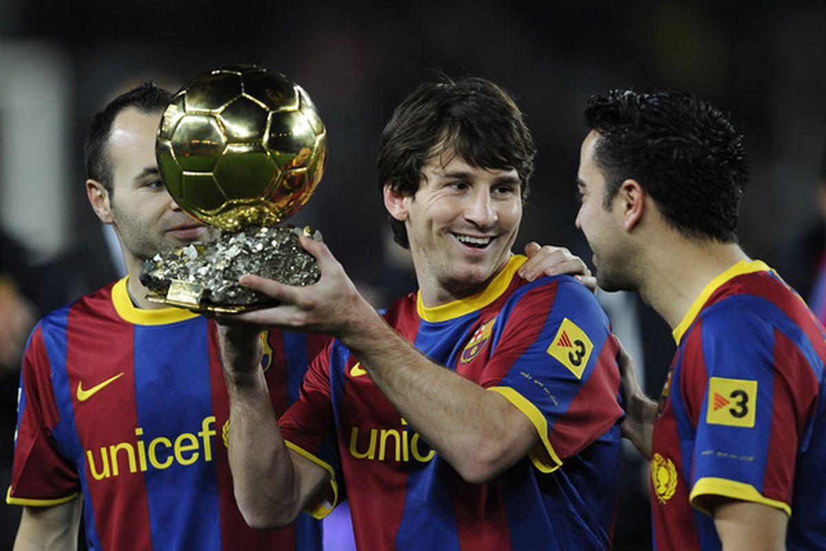 The Holy Trinity of FC Barcelona