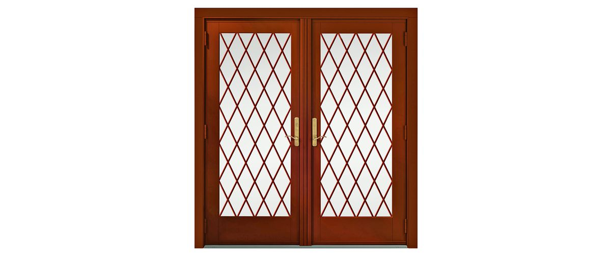 Tudor Revival Doors Lighting Style